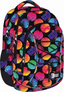 ST.RIGHT PLECAK 3-KOMOROWY BP32 COLOURFUL DOTS 16L