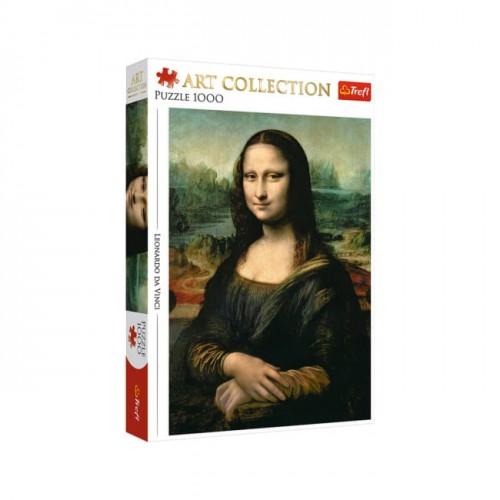 PUZZLE 1000 TREFL MONA LISA ART COLLECTION 10542