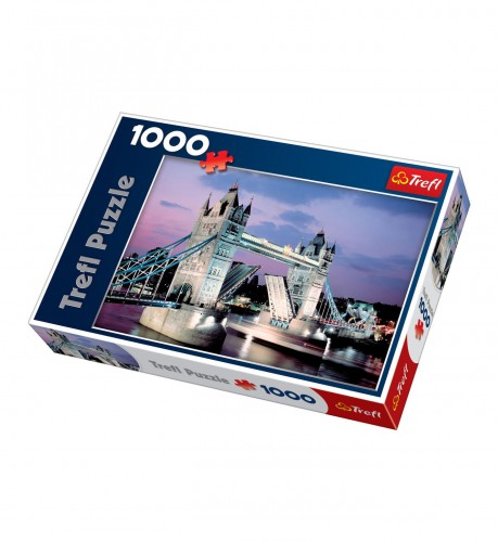 PUZZLE 1000 TREFL TOWER BRIDGE LONDYN 10101