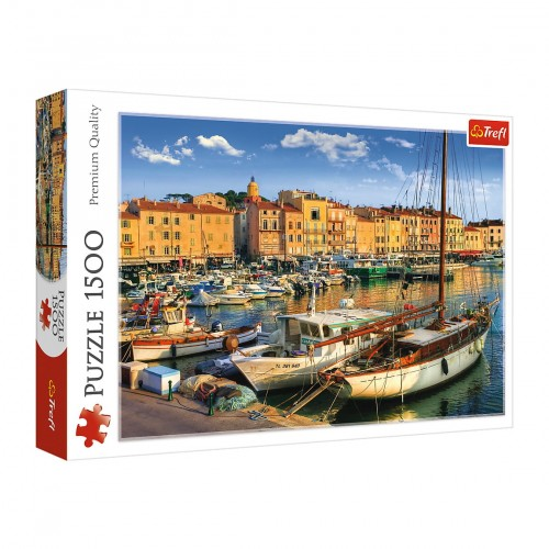 PUZZLE 1500 TREFL START PORT W SAINT TROPEZ 26130