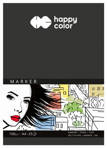 Blok do markerów Happy Color 25A 100g A4