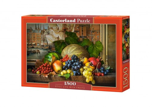 PUZZLE 1500 CASTORLAND STILL LIFE WITH FRUITS C 151868