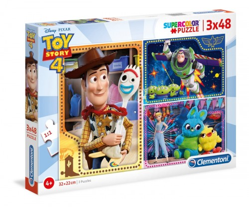 PUZZLE 3W1 CLEMENTONI TOY STORY 4 25242