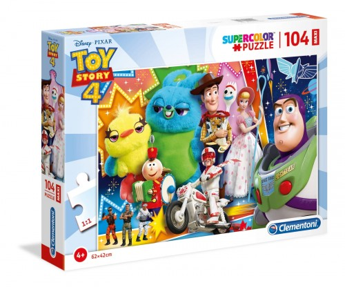 PUZZLE 104 CLEMENTONI MAXI TOY STORY 4 23741
