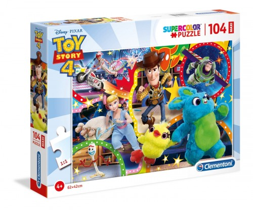 PUZZLE 104 CLEMENTONI MAXI TOY STORY 4 23740