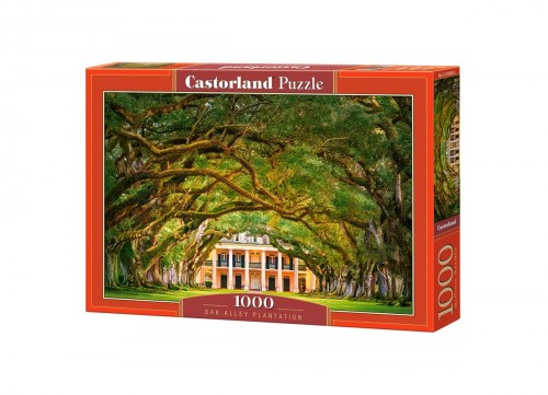 PUZZLE 1000 CASTORLAND OAK ALLEY PLANTATION C 104383