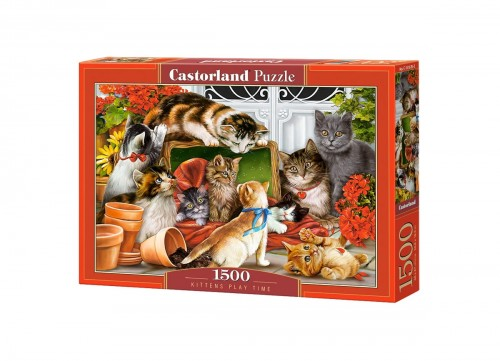 PUZZLE 1500 CASTORLAND KITTENS PLAY TIME KOTY C 151639