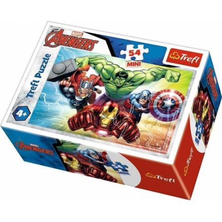 PUZZLE 54 TREFL MINI BOHATEROWIE THE AVENGERS 19613