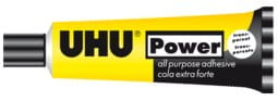 KLEJ UNIWERSALNY POWER TRANSPARENT UHU 45ML