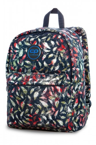 COOLPACK RUBY PLECAK MŁODZIEŻOWY VINTAGE FEATHERS BLUE 24 L