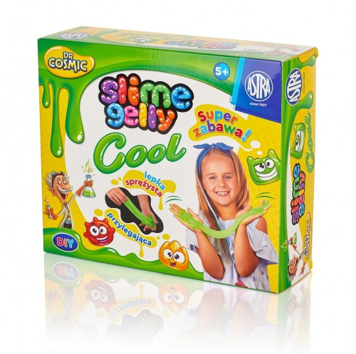 DR COSMIC SLIME GELLY COOL DIY ASTRA ZIELONY