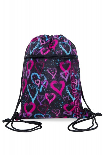 COOLPACK VERT WOREK NA BUTY DRAWING HEARTS