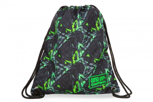 COOLPACK SOLO WOREK SPORTOWY NA BUTY ELECTRIC GREEN