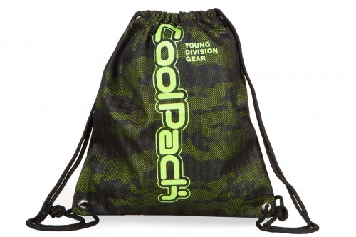 COOLPACK SPRINT LINE WOREK SPORTOWY NA BUTY ARMY MOSS GREEN
