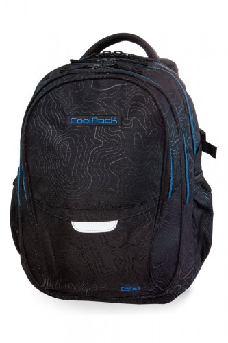 COOLPACK FACTOR PLECAK MŁODZIEŻOWY TOPOGRAPHY BLUE 29 L