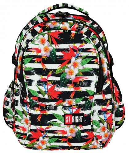 ST.RIGHT PLECAK 4-KOMOROWY BP-01 TROPICAL STRIPES 23L